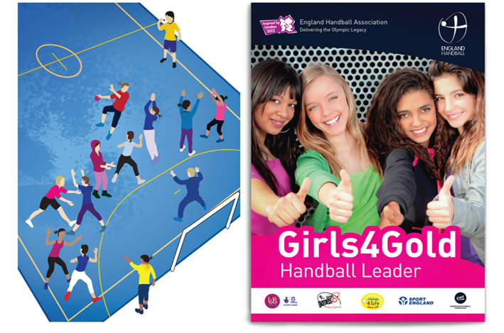 Girls 4 Gold Handball leader