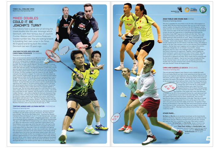 All England Badminton 2015