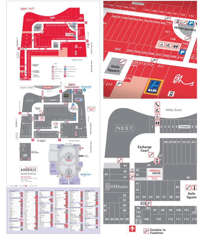 University Village Shopping Center Colorado Springs: Map Design
