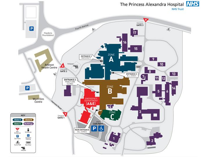 Bolton Hospital Map Map Design Bolton Hospital Map